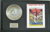 "Carly Simon -  Ltd 7"" Platinum Disc & Song Sheet - Nobody Does It Better"
